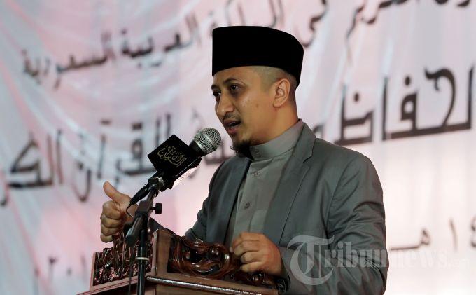 Hadapi Konferwil NU DKI, Ustadz Yusuf Mansur Doakan Gus Jazil