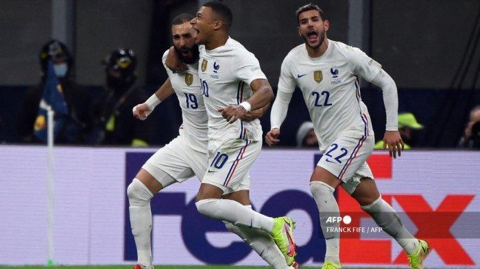 Hasil Final UEFA National League, Prancis Juara Usai Taklukan Spanyol, Mbappe Pahlawan Les Bleus